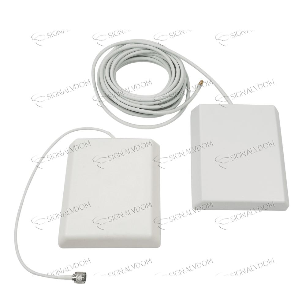 Усилитель сигнала VEGATEL VT-900E/3G (LED) комплект
