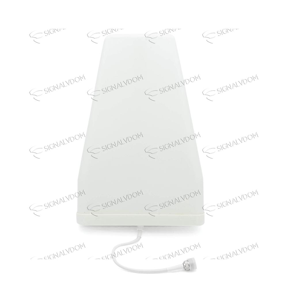 Усилитель сигнала Power Signal 900/1800/2100 MHz (GSM-900/1800 (2G), UMTS900/2100 (3G), LTE1800 (4G)) 70 dBi, кабель 15 м., комплект - 4