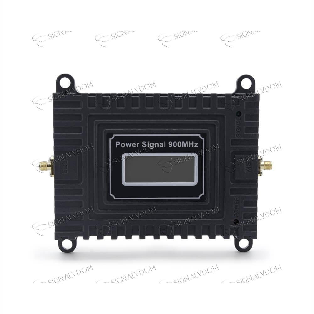 Усилитель сигнала Power Signal 900 MHz (для 2G) 65 dBi, кабель 10 м., комплект - 2